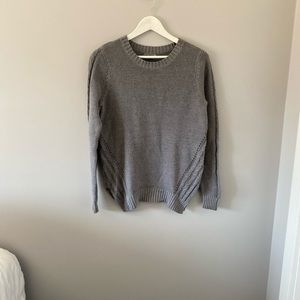Sears Grey Knitted Sweater - Size Medium 10/12